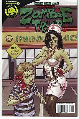 Zombie Tramp #1 Ongoing Comics Retailer Exclusive Igle Sign Language Variant