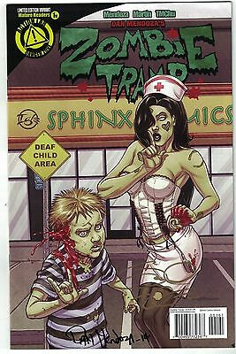 Zombie Tramp #1 Ongoing Comics Retailer Exclusive Variant Signed Mendoza & Igle