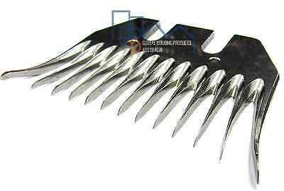10 Pack - Professional Shearing Combs - Alpaca/Sheep - FREE Postage Australia