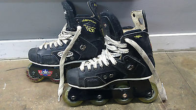 Used Mission Proto VSi Roller Hockey Skates Size 7.5