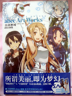 Sword Art Online abec Art Works   Artbook   * neu + 2 Lesezeichen (+2 bookmarks)