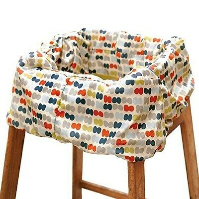Skip Hop Take Cover Shopping Cart/High Chair Cover, Double Dots