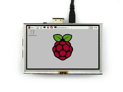 """5 Inch 800x480 Touch LCD Screen 5"""" HDMI Display For Raspberry Pi Pi2 Model B+ A+"""