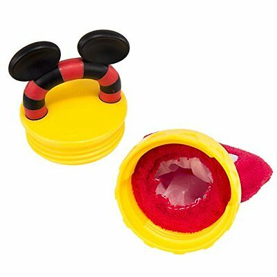 Disney Mickey Mouse Terry Teether with Handle, Red
