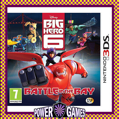 Disney Big Hero 6: Battle in the Bay (Nintendo 3DS 2DS 3DS XL) Brand New