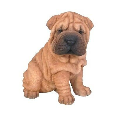 Shar Pei Puppy New Adorable Realistic Intricately Detailed Dog Figurine