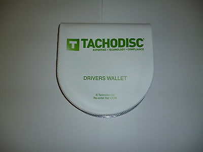 Semi-Circular Tachograph Wallet ( Analogue  Storage )Tachodisc HGV/PCV Product