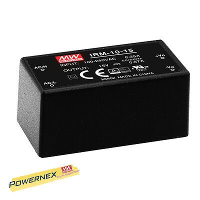 [POWERNEX] MEAN WELL NEW IRM-10-12 12V 0.85A 10.2W Single Output Power Supply