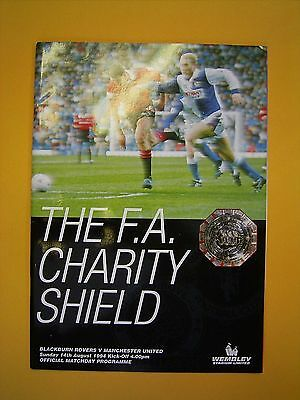 FA Charity Shield - Blackburn Rovers v Manchester United - 14th August 1994