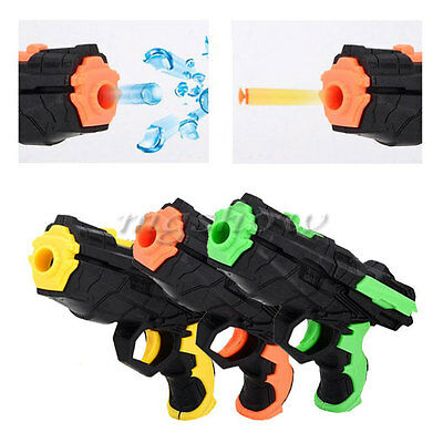 2 in 1 Water Crystal Paintball Soft Bullet Nerf Gun Pistol Toy CS Game Toy Gift