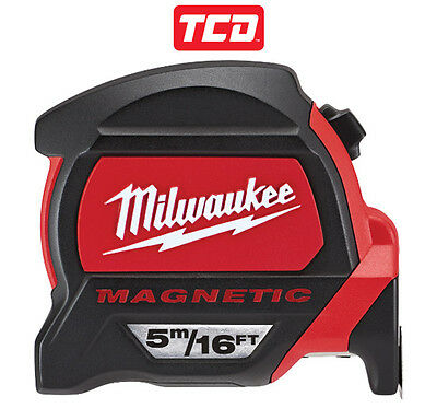NEW - Milwaukee 5m / 16ft Magnetic Tape Measure - 48227216