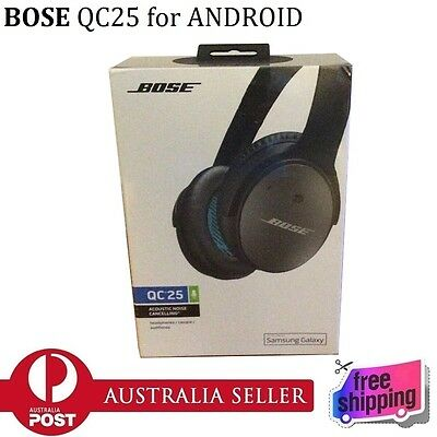 100% New Genuine BOSE QC25 Quiet Comfort Noise Cancelling Headphones for Android