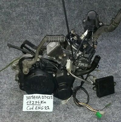 motore completo yamaha DT 125