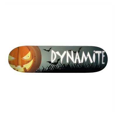 Dynamite Forever Skateboard Deck Halloween New FREE GRIP & FREE POST