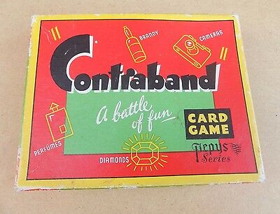 Vintage PEPYS Contraband Card Game (Complete)