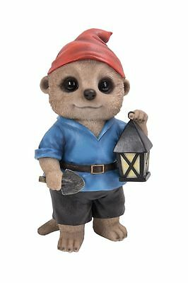 Brand New Gnome Meerkat Garden Ornament