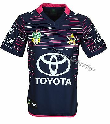 North Queensland Cowboys 2017 Women in League Pink Jersey Mens and Ladies Sizes