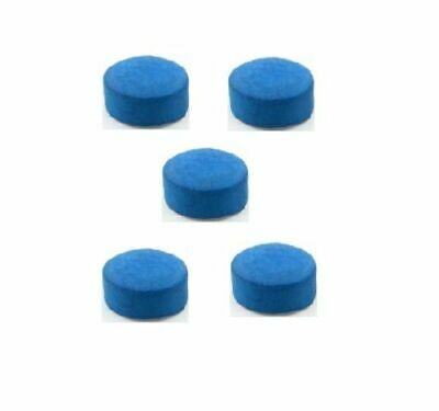 Leather Blue Diamond Snooker Pool Cue Tips Billiard Tip Quality 10mm