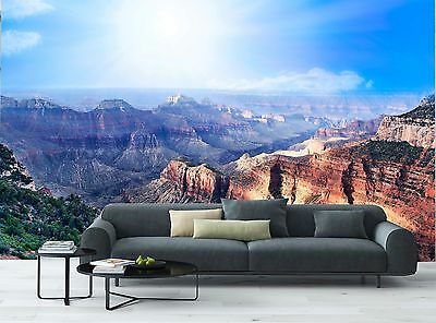Grand Canyon Photo Wallpaper Decor Paper Giant Poster Wall Mural Free Glue