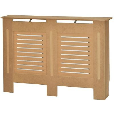 MILTON RADIATOR COVER Medium Unfinished MDF Traditional Grill Guard Cover Shelf