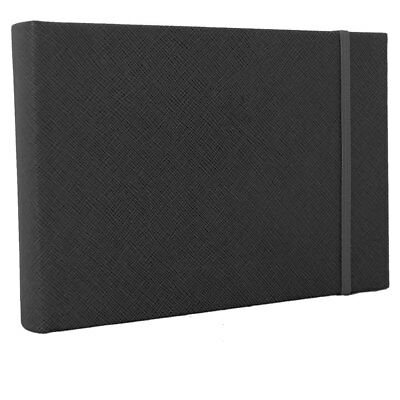 """Small Black Traditional Photo Book Album - 36 Sides Overall Size 7.5x5.5"""""""