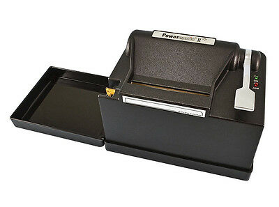 New Powermatic 2 II + Electric Cigarette Rolling Machine Make King & 100 mm 3037