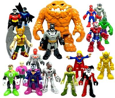 IMAGINEXT & Playskool Marvel Super Heroes Used Figures Loose *Please select*