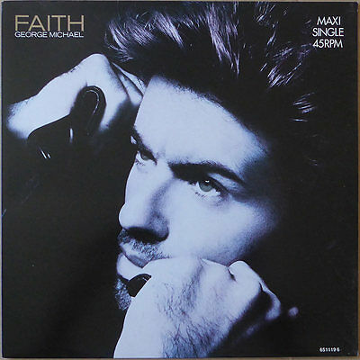 "12"" George Michael - Faith (2) - Europa 1987 - NM"