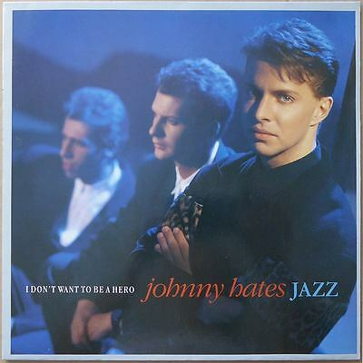 "12"" Johnny Hates Jazz - I Don't Want To Be A Hero - Europa 1987 - NM"
