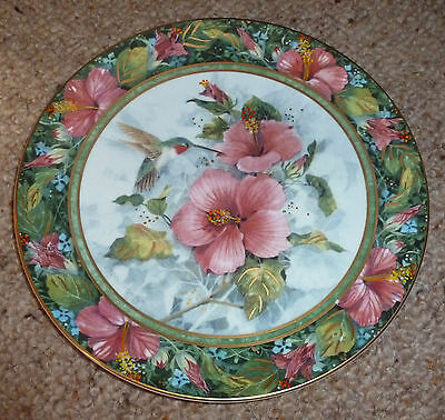 Royal Doulton - The Imperial Hummingbird Plate - (G486)