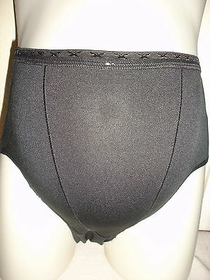 BRAND NEW Jet Black Super Stretchy Comfortable Maternity Knickers