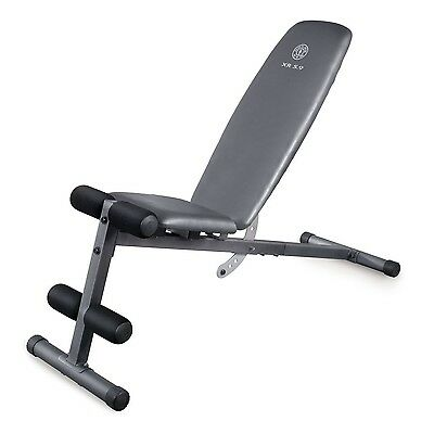 Gold's Gym XR 5.9 Multiposition Weight Bench for Strength & Weight Training