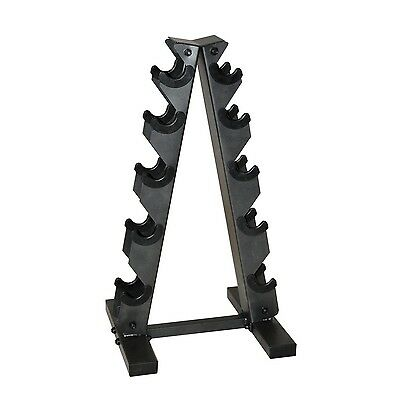 Cap Barbell A Type Dumbbell Rack for Weight Storage - Store up to 5 Pairs