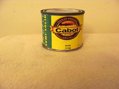 Cabot Sample 4 ounce semi-transparent water based stain