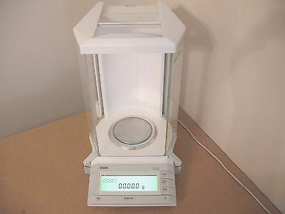 METTLER AG204 ANALYTICAL LAB BALANCE 210.0000g 210@0.1mg EXCELLENT CONDITION