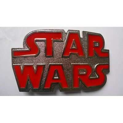 Star Wars Red Belt Buckle