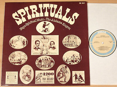 THE ALABAMA SINGERS - Spirituals / Negro Spiritual Music  (JOKER, IT 1969)