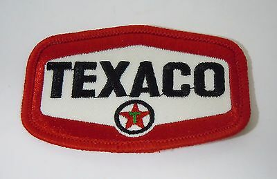 TEXACO Fuels Embroidered Sew On Uniform-Jacket Patch 3""