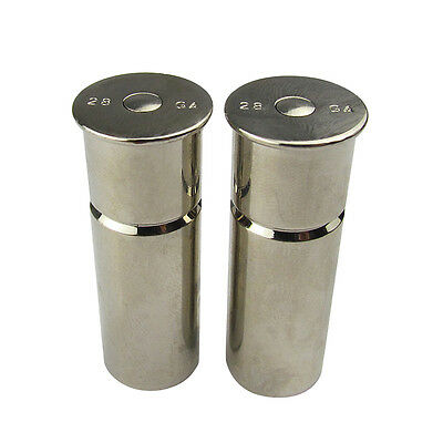 Tourbon Training Dummy Rounds High Solid Brass Snap Caps 28 Gauge Pack of 2 NEW