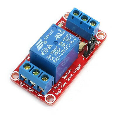 DC24V 1Channel Optocoupler Driver Relay Module Board Red T1