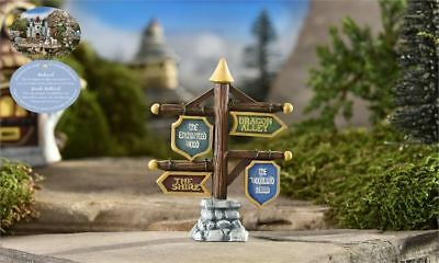 My Fairy Gardens Mini - Medieval Times Directional Sign - Supplies Accessories