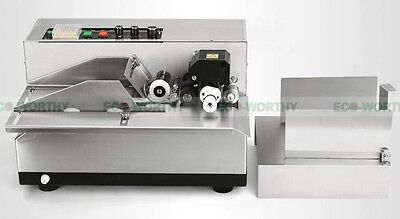 Automatic ink roll Coder Dry Ink Batch Coding Machine 180W 300 times/min Max.