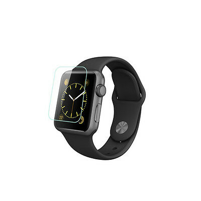 Apple Watch 38mm Glossy Premium Tempered Glass Screen Protector NEW