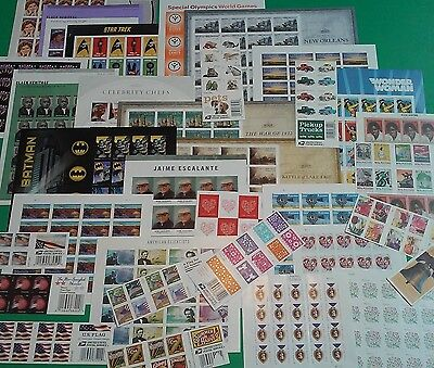 New lot of 960 Assorted Mixed Designs US PS  FOREVER Postage Stamps. FV $ 528.00