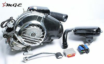 Brand New Vespa PX LML 150cc 3 Port Complete Engine With Self Start Feature @MGE