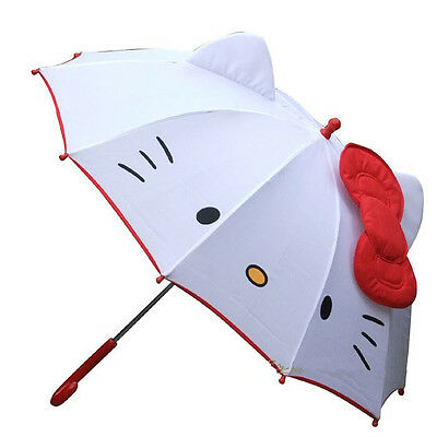 NEW HOT lovely Cartoon Hello Kitty children umbrella for kids girl umbrella