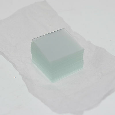 400x microscope cover glass slips 22mmx22mm new