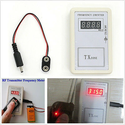 Car Autos RF Frequency detector Tester Counter For Key Remote Control Checker