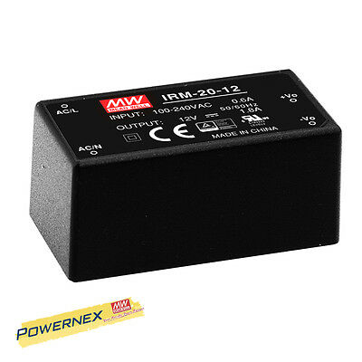 [POWERNEX] MEAN WELL NEW IRM-20-24 24V 0.9A 21.6W Single Output Power Supply