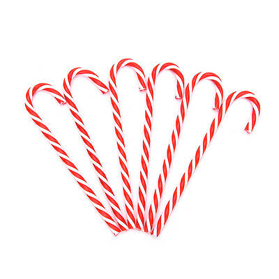 6x Xmas Tree Candy Cane Hanging  Ornament Decoration Christmas Home Party Decor